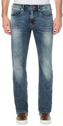 Buffalo David Bitton Evan Slim-Straight Faded Jeans