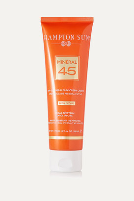 Hampton Sun Spf45 Mineral Crème For Body, 130ml - Colorless