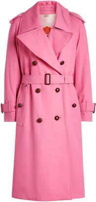 Burberry Regina Wool Trench Coat