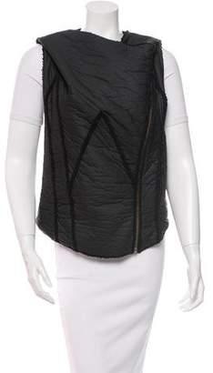 Helmut Lang Asymmetrical Zip Vest