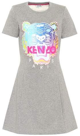 Kenzo Appliquéd sweater dress