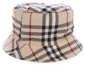 Burberry  Burberry London Reversible Bucket Hat