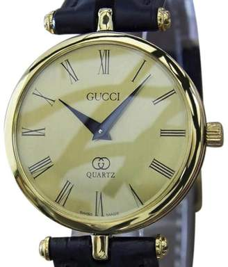 Gucci Gold Plated Quartz 30mm Unisex Watch Year 2000
