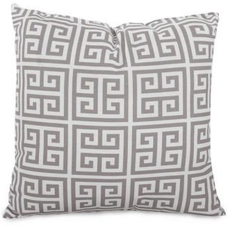 """Majestic Home Goods Towers Extra Large Decorative Pillow, 24"""" x 24"""", Indoor/Outdoor"""