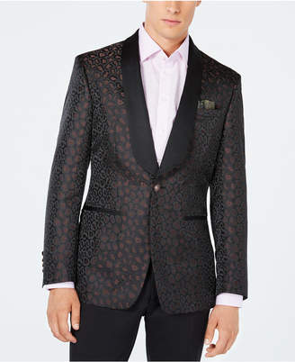 Tallia Men's Slim-Fit Leopard Print Sport Coat