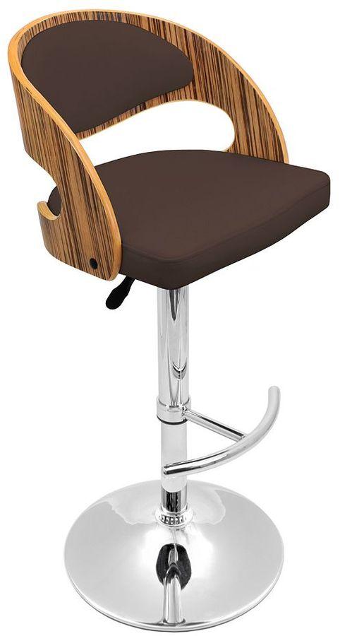 Lumisource pino adjustable bar stool