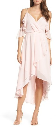 Women's Chelsea28 Ruffle Off The Shoulder Dress $149 thestylecure.com