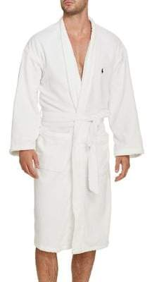 Polo Ralph Lauren Big and Tall Modest Cotton Robe