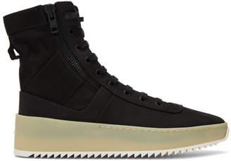 Fear Of God Black Jungle Sneakers