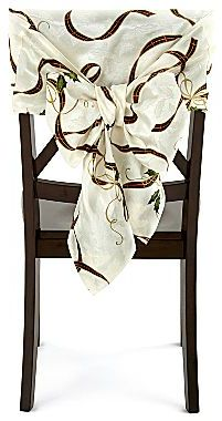 JCPenney Holiday Nouveau Chair Bows