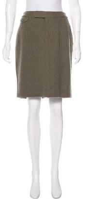 Ralph Lauren Knee-Length Wool Skirt
