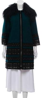 Andrew Gn Wool-Blend Evening Jacket