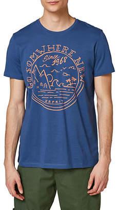 Esprit Go Somewhere New Print T-Shirt