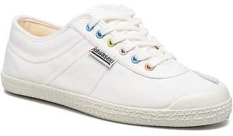 Men's Basic Retro Lace-up Trainers in White