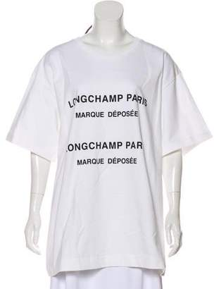 Longchamp 2018 Oversize Short Sleeve T-Shirt