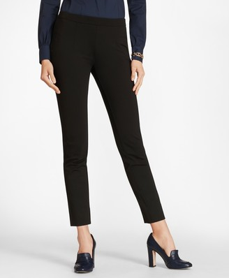 Brooks Brothers Ponte Knit Ankle Pants