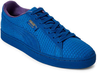 Puma Royal & Gold Suede Classic AOP Sneakers