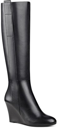 Women's Nine West Orsella Tall Wedge Boot $148.95 thestylecure.com