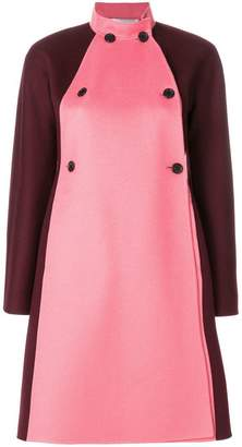 Valentino color-blocked coat
