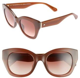 Kate Spade Jalena 49mm Gradient Sunglasses