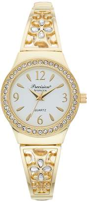 Gruen Precision By Precision by Women's Filigree & Crystal Accent Expansion Watch