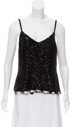 Ralph Lauren Embellished Sleeveless Top