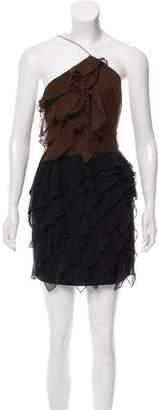 Jenni Kayne Silk One-Shoulder Dress