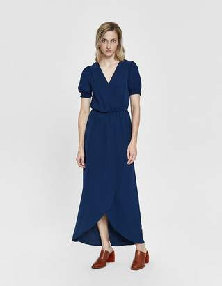 Farrow Karrie Smocked Sleeve Maxi Dress
