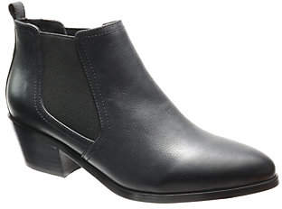 David Tate Gored Western Look Booties - Maxie