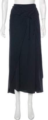 Ralph Lauren Black Label Flared Knee-Length Skirt