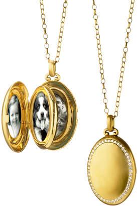 Monica Rich Kosann The Four Premier Diamond Locket