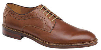Johnston & Murphy Warner Plain Leather Oxfords