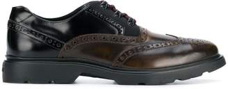 Hogan lace-uo brogue shoes