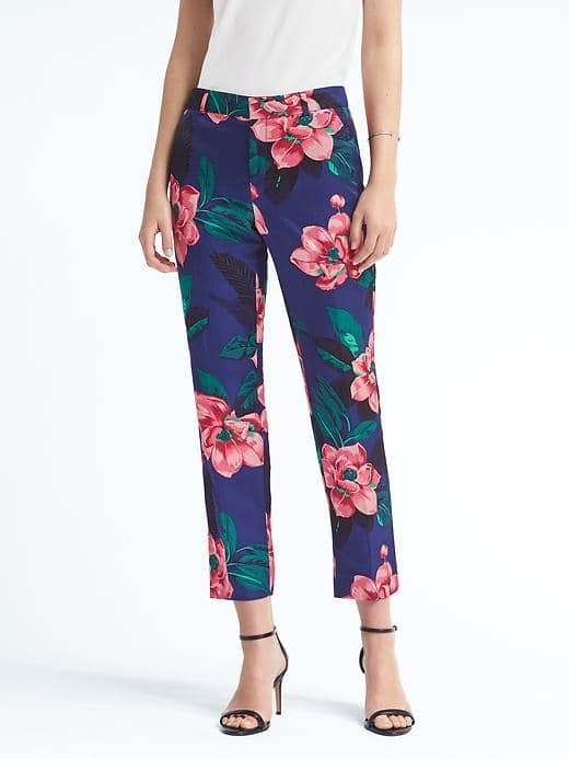 Avery-Fit Floral Pant