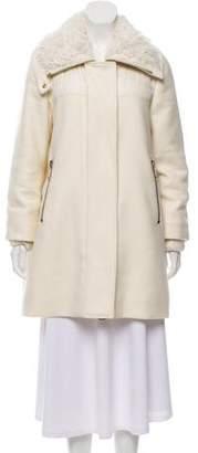 Moncler Calipso Wool-Blend Coat