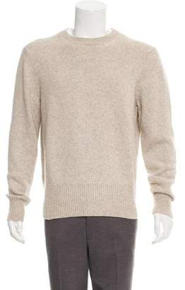Tom Ford Cashmere Camel Blend Crew Neck Sweater