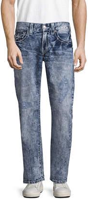 True Religion W Flaps Big T Straight Fit Pant