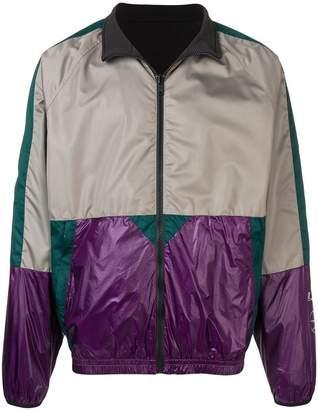 Lanvin colour block windbreaker jacket