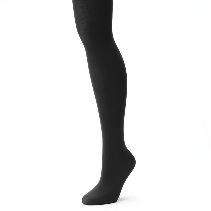 Hanes Women's X-Temp Comfort Stretch Opaque Tights