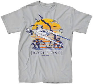Star Wars Novelty T-Shirts Rogue 1 Beach Graphic Tee