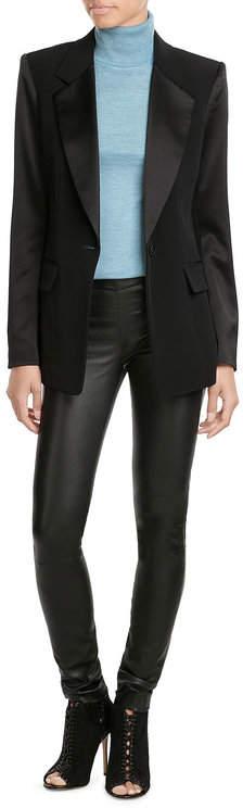 DKNYDKNY Tailored Blazer with Satin