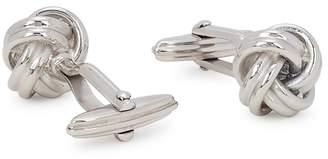 Lanvin Knot Rhodium-plated Cufflinks