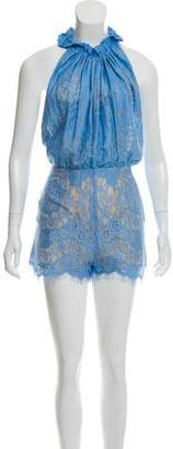 Lover Heather Lace Romper