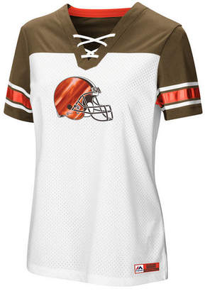 Majestic Women's Cleveland Browns Draft Me T-Shirt 2018