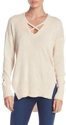 Ben Elias Slub Knit Vented Sweater
