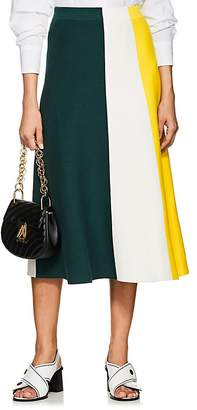 Derek Lam Women's Colorblocked Maxi Skirt