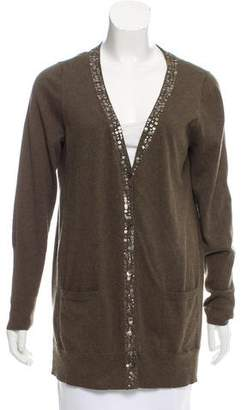 Eileen Fisher Sequined Knit Cardigan