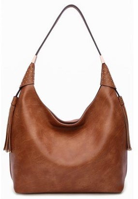 MKF Collection by Mia K Farrow Alya Vegan Leather Fashion Hobo Bag