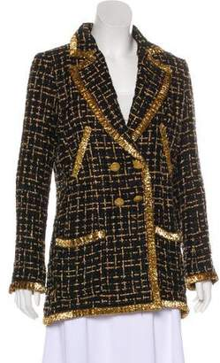 Chanel Metallic Bouclé Blazer