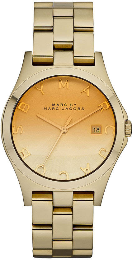 MARC BY MARC JACOBS 'Henry' Ombré Dial Watch